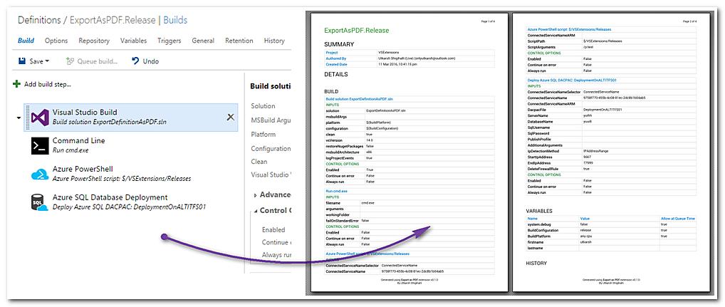 Export As PDF - Visual Studio Marketplace